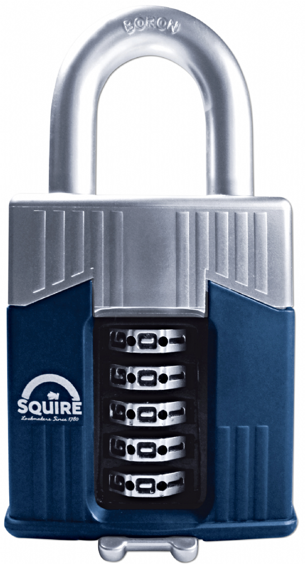 Squire Warrior Combi 65 Padlock only £26.90 - Next Day Delivery